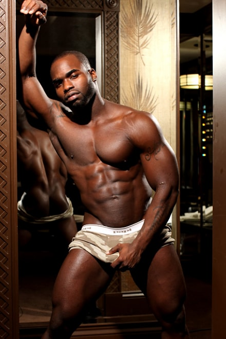 Black nude men